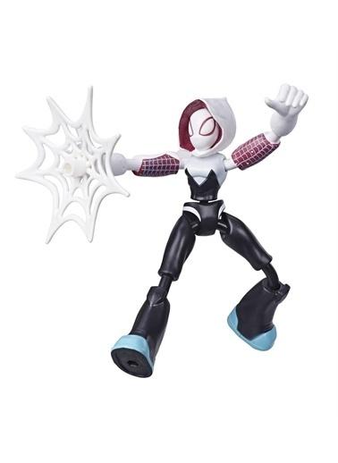 Hasbro Spider-Man Bend & Flex Ghost-Spider Figür Renkli